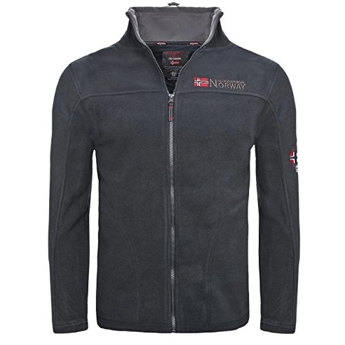 Geographical Norway Texas Men 224 NEW Herren Fleece Jacke Navy Gr. M