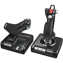 Logitech G Saitek X52 Pro Flight Control System - Sistema de Control para simuladores, Color Negro