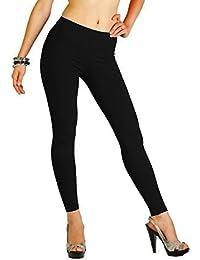 FUTURO FASHION Winter Style Full Length Warm Thick Heavy Cotton Leggings All Sizes 8-22 P25