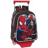 Spiderman - Mochila infantil carro, 27 x 33 cm (Safta 611512020)