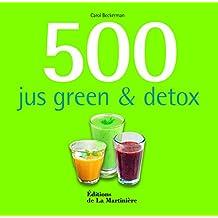 500 jus green et détox