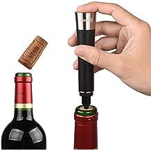 Qishare Elegante abridor de vino a presión de aire Bomba Con Cortador de hoja