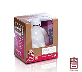 INFOTHINK DISNEY BIG HERO 6 BAYMAX USB LED LAMP TOY FIGURE & REMOTE CONTROL