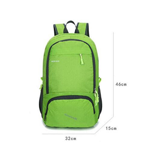 SZH&BEIB Faltbare Außen Rucksack Wasserdichte Nylon 30L für Outdoor Reit Tasche Klettern Wandern Wasser-Beutel A