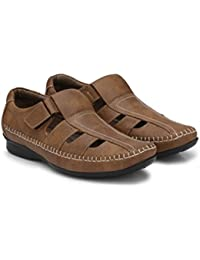 Andrew Scott Men's Artificial Leather Sandal