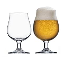 Stölzle Lausitz 0,3l Biertulpe der Serie Berlin, 390 ml, 6er Set, hoch funktionelle Bier-Gläser, zeitlos elegante Bier-Schwenker