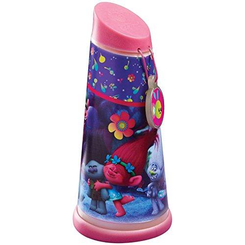 goglow Trolle Tilt Taschenlampe und Nachtlicht, Kunststoff, pink