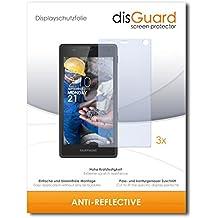 3 x disGuard Anti-Reflective Lámina de protección para Fairphone Fairphone 2 / Fairphone II - ¡Protección de pantalla antirreflectante con recubrimiento duro! CALIDAD PREMIUM - Made in Germany