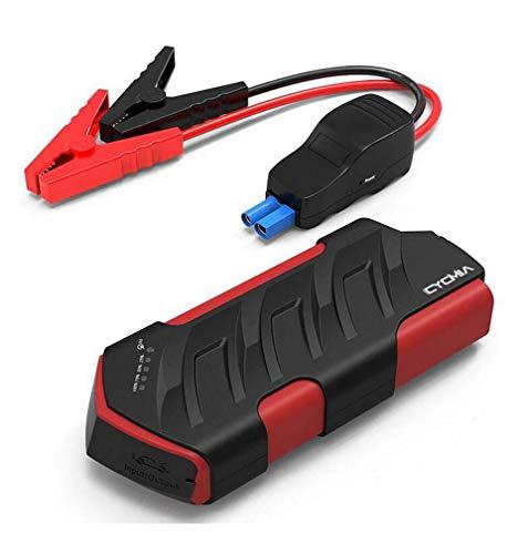 Portable Mini Car Jump, 15000mAh Starter Notbatterie Booster Pack Hard Case Tragetasche Abdeckung für 600A Peak Externe Batterie