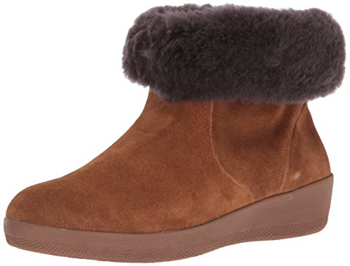 Fitflop Womens J73 SkatebootieTM Suede Boots with Shearling