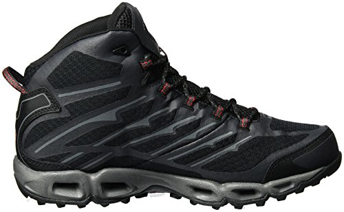 Columbia Ventrailia Ii Mid Outdry, Chaussures Multisport Outdoor Homme Noir (Black, Mountain Red 010)