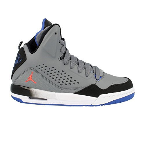 Nike Air Jordan SC-3BG Hi Top Turnschuhe 629942Sneakers Schuhe, Colour: Grey Infra Red Black - Größe: Verschiedene (Nike Jordan Stiefel Air)