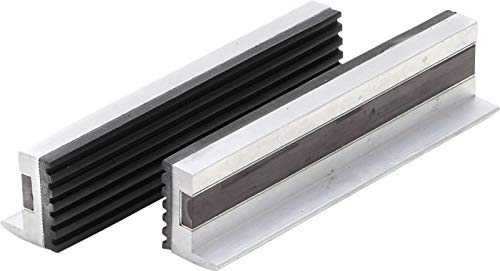 BGS 3044   Schraubstock-Schutzbacken   2-tlg.   Aluminium   Breite 125 mm   mit Magnet   Alu   Schonbacken