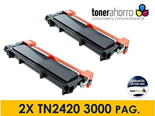 TonerAhorro - Pack 2 Toner Compatible Cartucho Tn2420