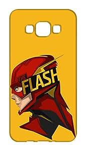 Mott2 Back Case for Samsung Galaxy A5 2015   Samsung Galaxy A5 2015Back Cover   Samsung Galaxy A5 2015 Back Case - Printed Designer Hard Plastic Case - The Flash theme