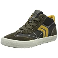 Geox J Alonisso Boy C Hi-Top Trainers