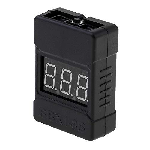 Homyl LiPo Battery Checker RC 1-8S Batterietester Monitor Niederspannung Summer Alarm
