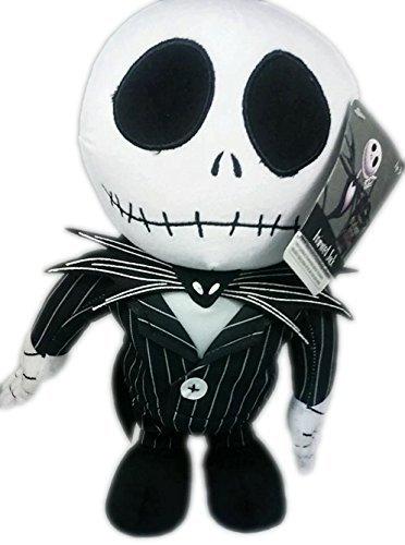 Disney's / Tim Burton's the Nightmare Before Christmas 12 Jack Skellington Musical Animated Plush Figure Featuring Instrumental This Is Halloween by Tim Burton