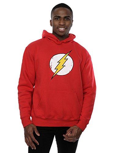 dc-comics-homme-flash-distressed-logo-sweat-a-capuche-large-rouge