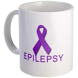 Ruban violet épilepsie sensibilisation 11 oz Tasse à café en céramique