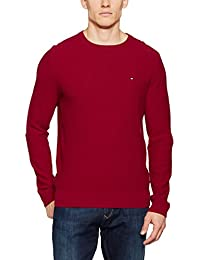 Tommy Hilfiger Pre-Twisted Ricecorn C-Nk Cf, Pull Homme