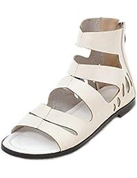 Suchergebnis auf Amazon.de für  sandalen damen flach - 45   Sandalen ... 704c360b45