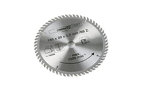Meister 5905680 de rechange lame de scie 185 mm/60Z pour 590566