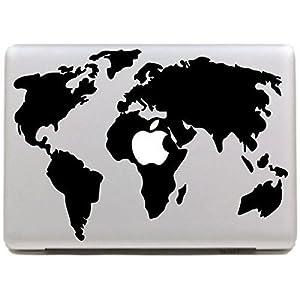VATI Hojas Monumentos extraíbles de Londres Best Sticker Decal la Piel del Vinilo del Arte Apple Macbook Pro Aire Mac de 13″Pulgadas/Unibody 13 Inch Laptop