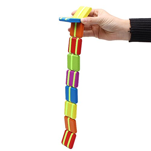 Bluelover Girando la tavola in legno colorati bambini gioco educativo del mano-occhio coordinamento speciale giocattoli