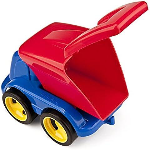 Miniland - Minimobil Dumpy, camión reciclaje en estuche individual (27468)