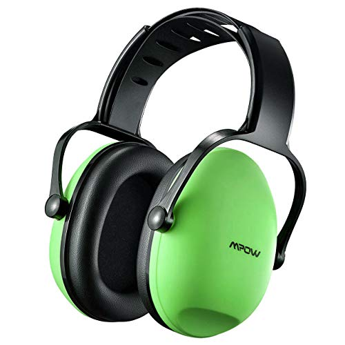 Mpow LP-FR-MPHM068AG MPHM068AG Casque de Protection auditive, Vert, Kids Ear Defenders