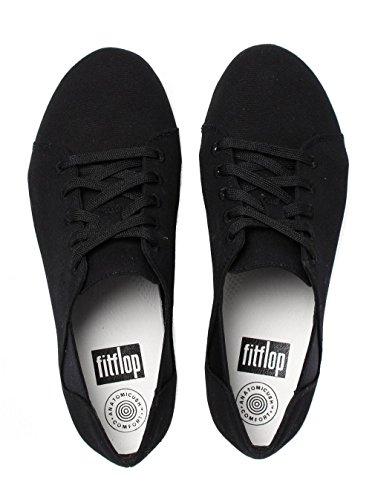 Fitflop Donna Nero F-Sporty Lace-Up Sneaker Nero