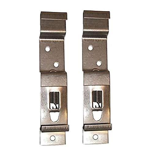 2/4/6 clips para matrícula de remolque, abrazaderas para matrícula, soporte de resorte de acero inoxidable para placa de registro