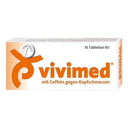 VIVIMED mit Coffein gegen Kopfschmerzen Tabletten 10 St