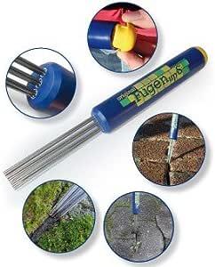 Redsa Fugen-Werkzeug M/örtel-Applikator Spitzspr/üher Fugen-Werkzeug Fugendichtungs-Werkzeug f/ür Zement-Limme mit 4 D/üsen Kit