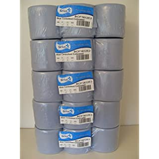 30 Centrefeed Rolls 2ply Blue Embossed 300 sheets per roll 5 X 6 PACKS