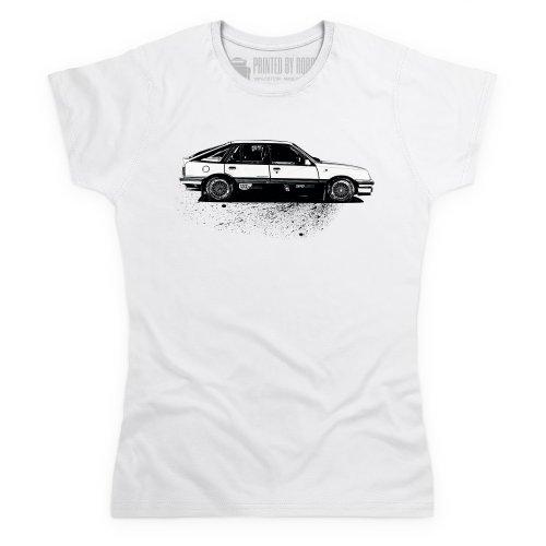 CavalierSRi130 T-Shirt, Damen Wei