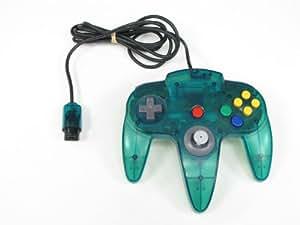 Manette Nintendo 64 Officielle Bleue Transparente