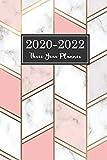 2020-2022 Three Year Planner: Marble Golden Geometrical Line Cover | 36 Month Calendar Pocket Planner Diary for Next Three Years | 3 Year Appointment ... Three Year Monthly Calendar Planner, Band 8)