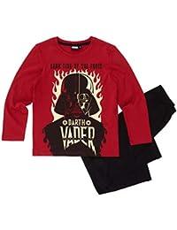 Star Wars-The Clone Wars Darth Vader Jedi Yoda Jungen Pyjama Schlafanzug 2016 Kollektion - schwarz