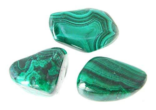 Tanglz malachite pietra naturale di protezione 2-3 cm