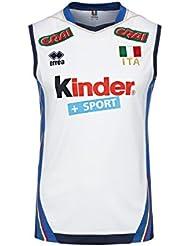 Maillot Errea authentique Italie volley Blanc 2017/2018