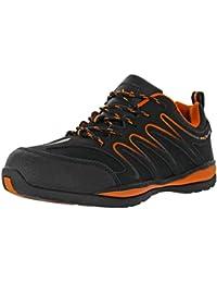 REIS Ecuador Arbeitsschuhe Berufs-Schuhe Ohne Stahl-Kappe, Rutschfeste Sohle, Benzinresistent, Größen 36-48