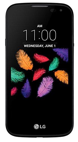 LG K3 MD 60368 11,43 cm (4,5″ Zoll) Smartphone, Quad-Core-Prozessor, 1 GB RAM, 8 GB Speicher, LTE, Dual SIM, Android 6 Marshmallow, OEM, dunkelblau