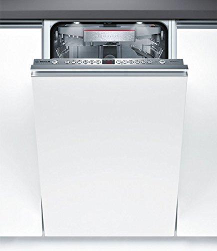 Bosch Serie 6 SPV66TX01E lavavajilla Totalmente integrado 10 cubiertos A+++ - Lavavajillas (Totalmente integrado, Estrecho (45 cm), Acero inoxidable, Botones, 1,75 m, 1,65 m)