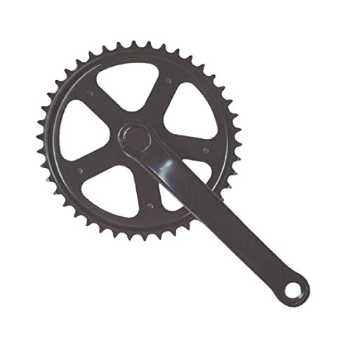 RMS Guarnitura City 42 x 170mm Acciaio Nero (Guarniture City Fixed) / Crankset City 42 X 170mm Steel Black (City Fixed Cranksets)
