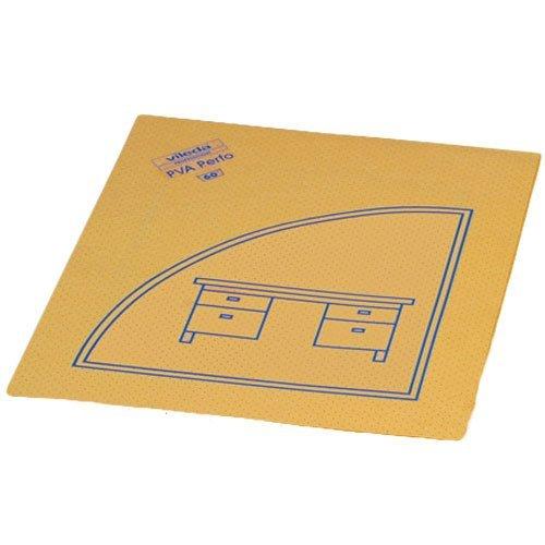 Vileda Lochtuch \'PVA Perfo\' 35x40cm mit Piktogram Schreibtisch VE=10 Stück