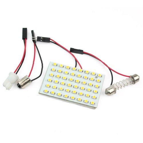 Rhx 48 SMD LED Panel (Warmweiß), Innenlampe, T10- und BA9S-Adapter