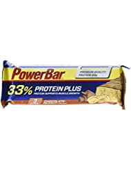 Powerbar Protein Plus Set de 10 Barres Nutritive 33% Chocolate Peanut 90 g