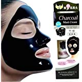 GlamTools ® Aroma Charcoal Anti-Blackhead Peel Off Mask for Men And Women to remove acne , blackheads